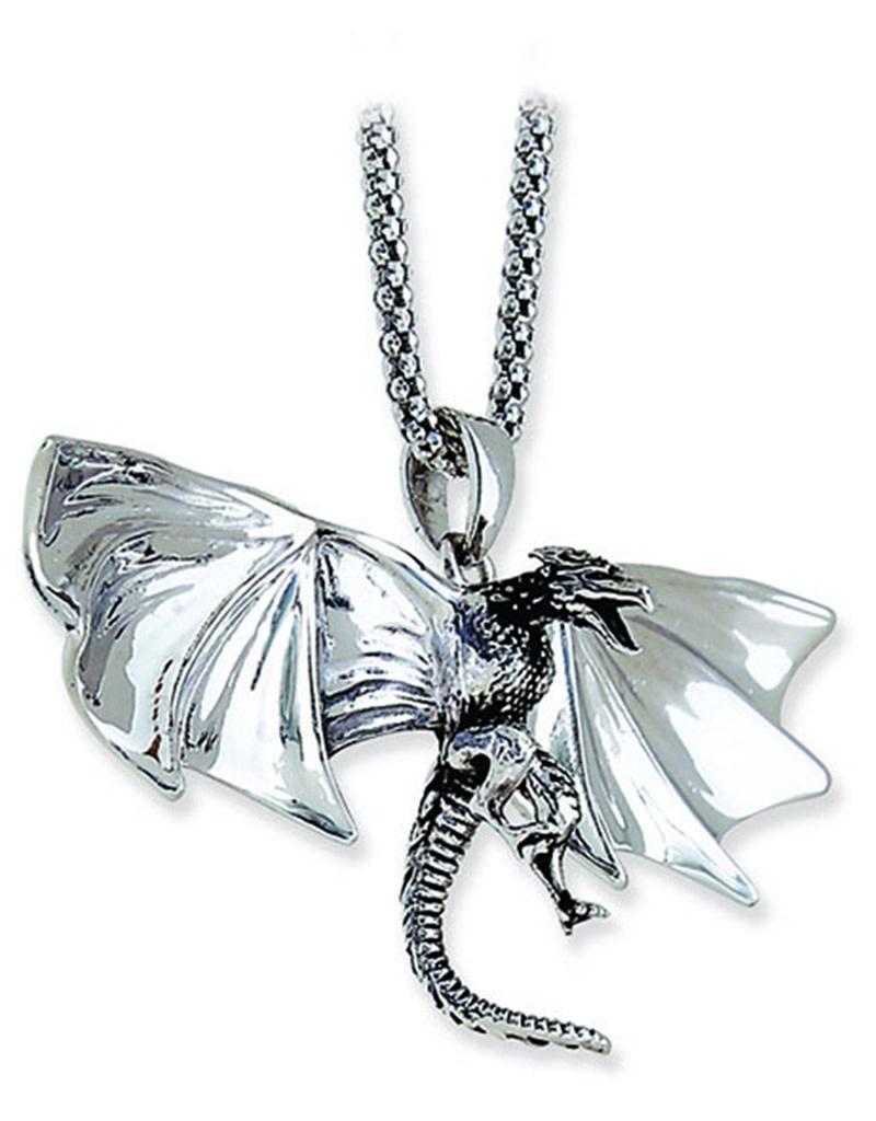 Medieval Dragon Necklace