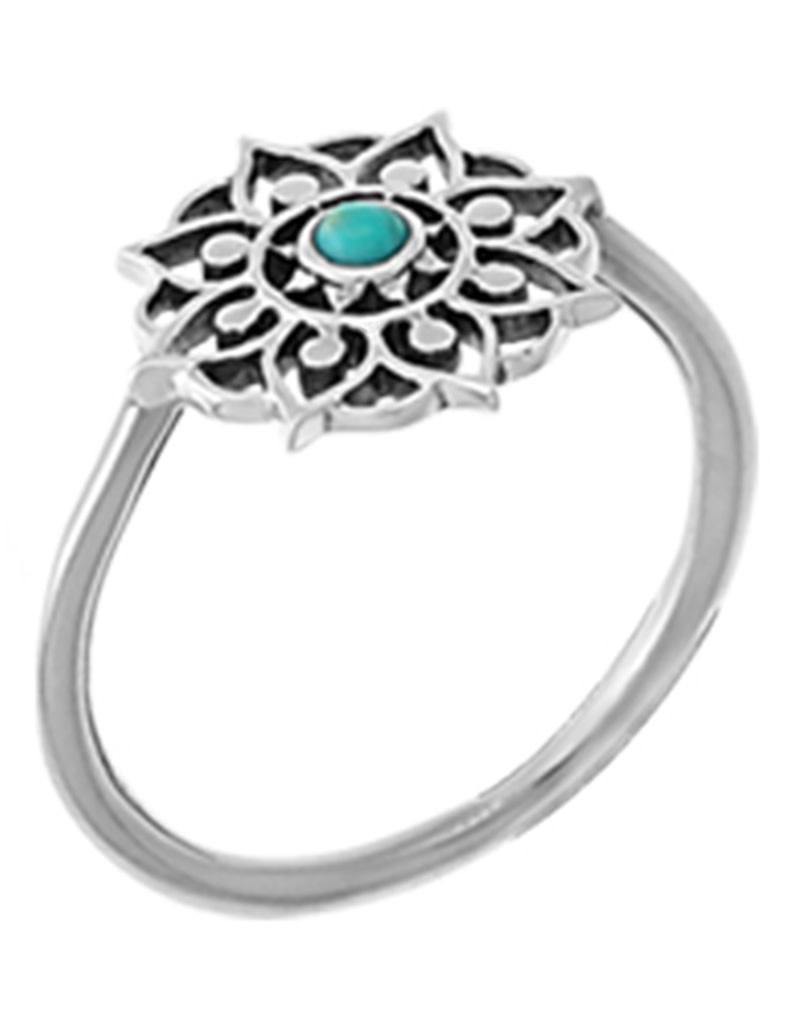 Filigree Turquoise Ring