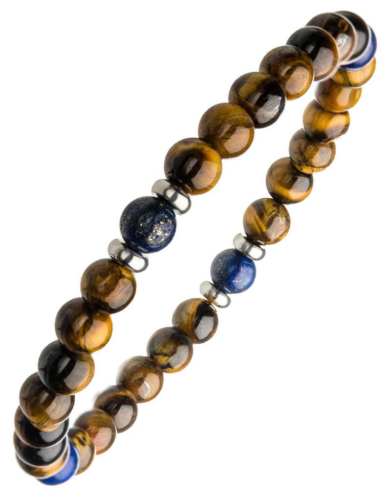 Tiger Eye Bead Stretch Bracelet