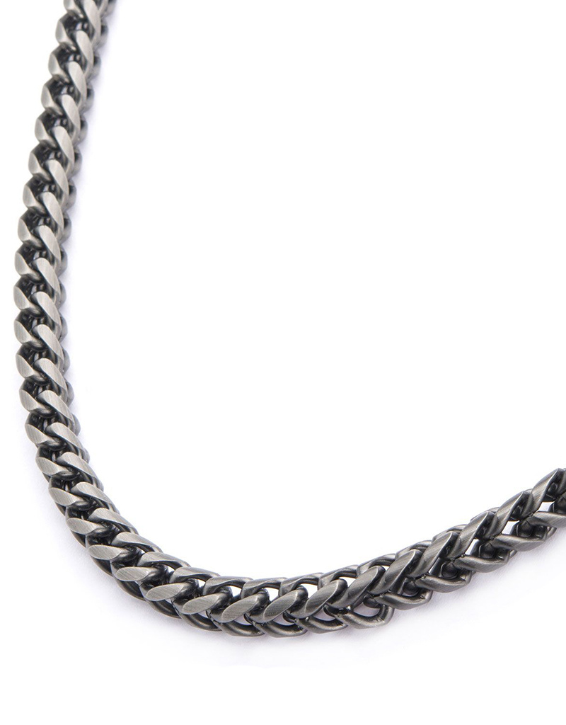 Foxtail Link Necklace 24""