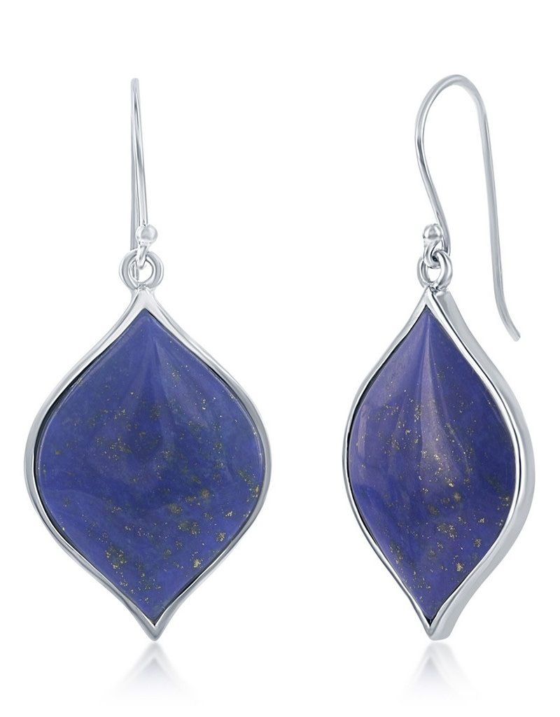 Lapis Earrings 26mm