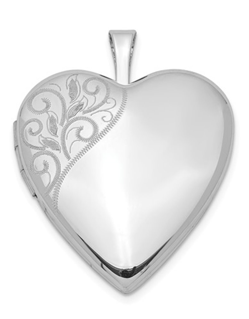 Heart Locket Pendant 20mm