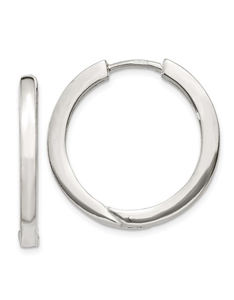 2.5mm Hinged Hoop 25mm