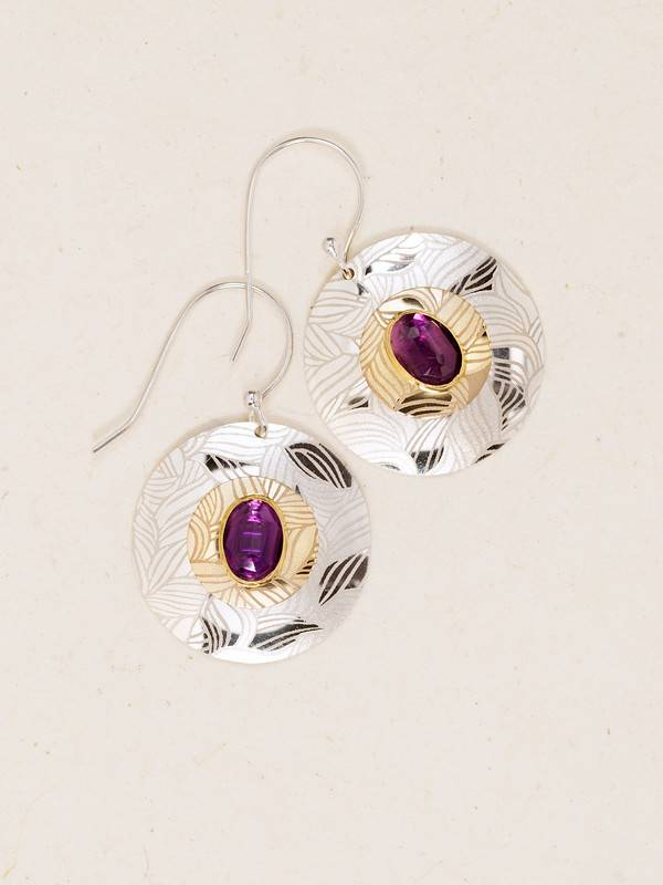HOLLY YASHI Silver Soleil Earrings *90083