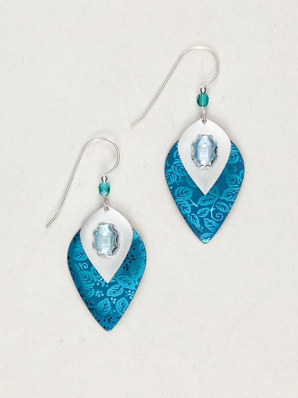HOLLY YASHI Blue Arabella Earrings *92234