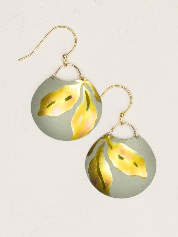HOLLY YASHI Yellow Gilda Earrings *96135