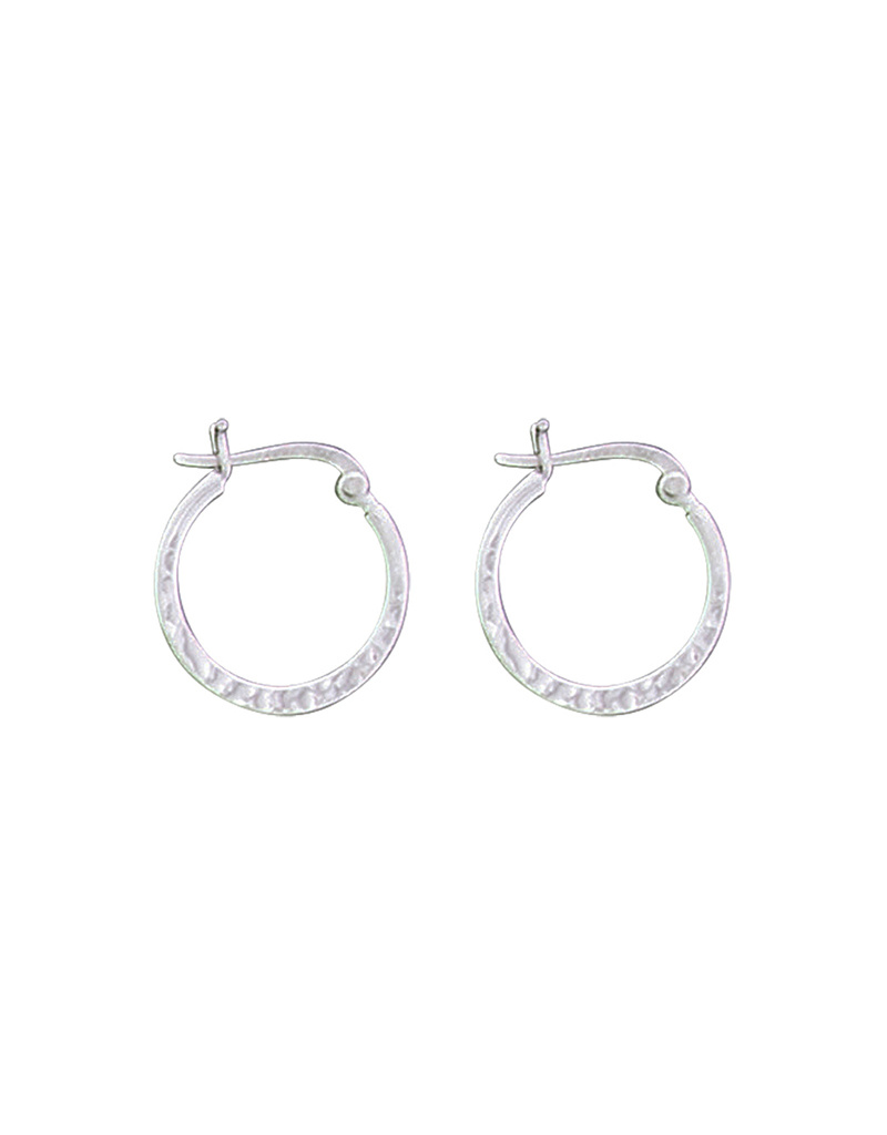 19mm Hammered Hoop