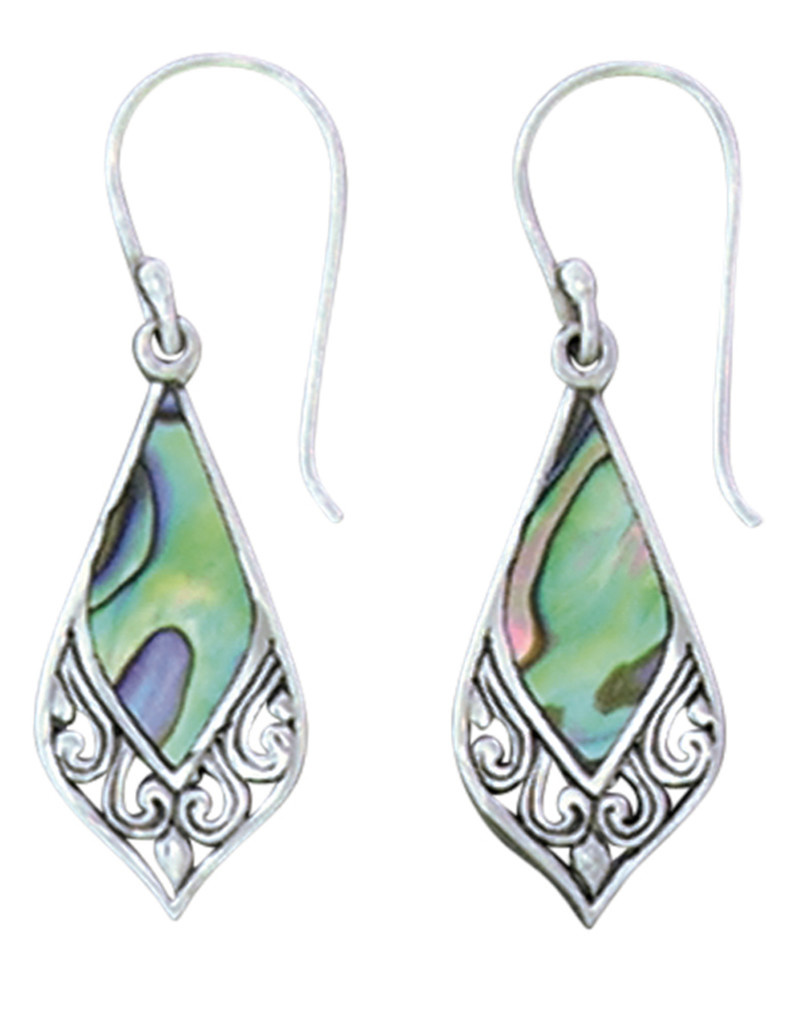 Abalone Earrings 23mm