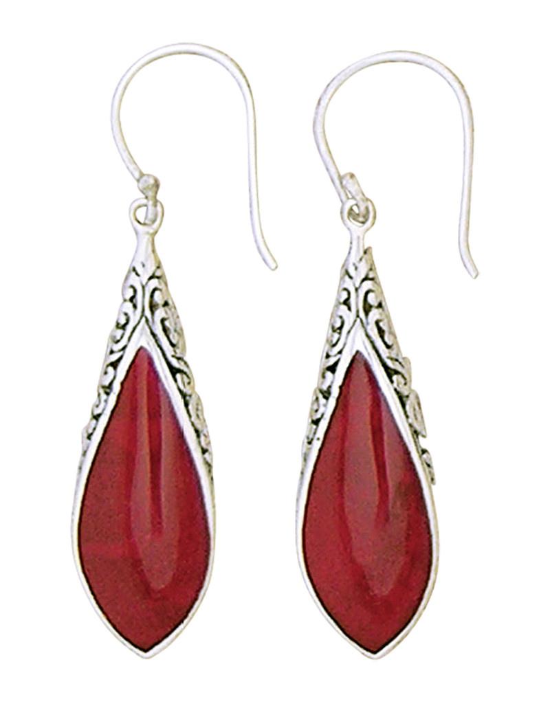 Coral Earrings 35mm