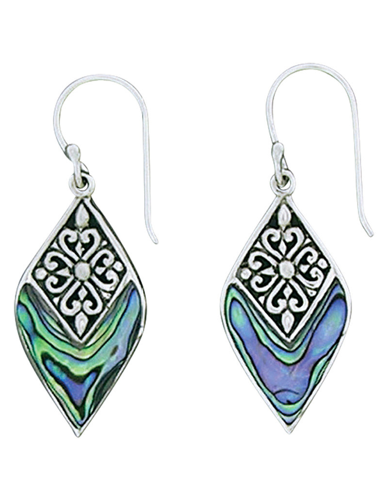 Abalone Earrings 25mm