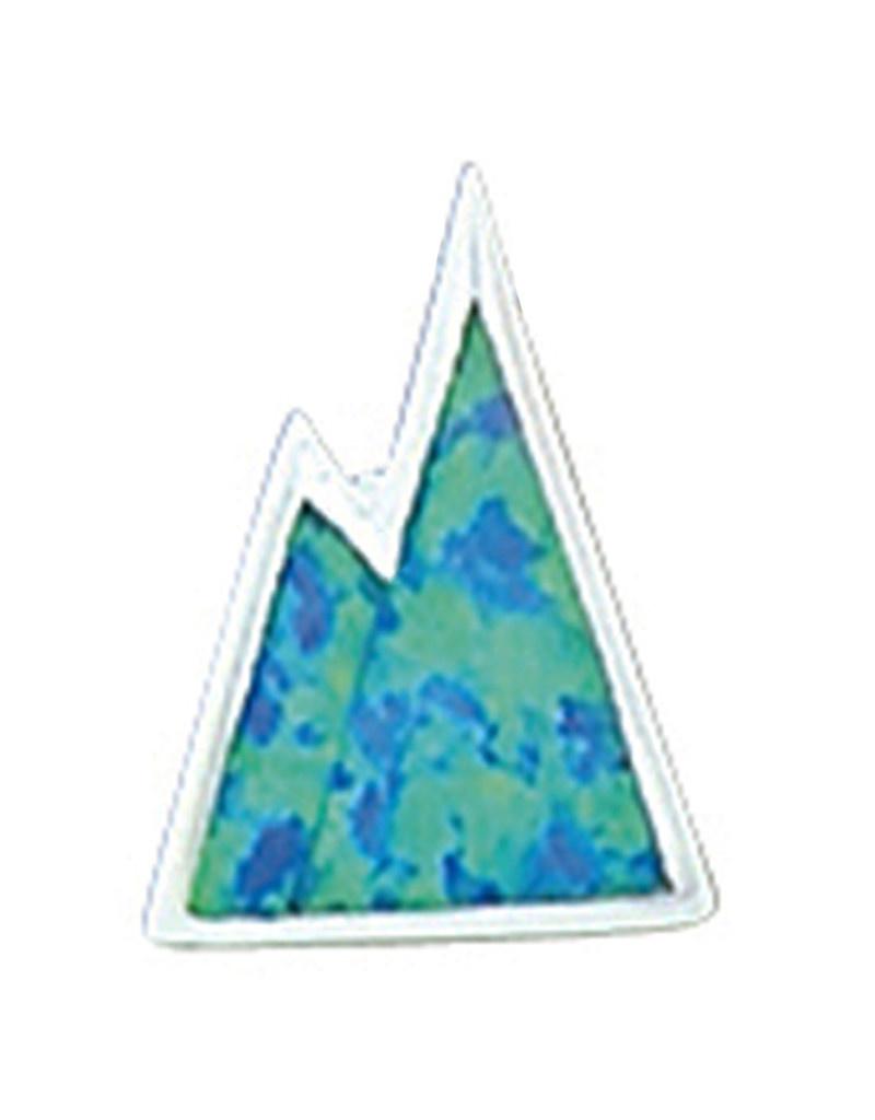 Opal Mountain Slide Pendant 17mm