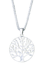 Sterling Silver Tree of Life Pendant 24mm