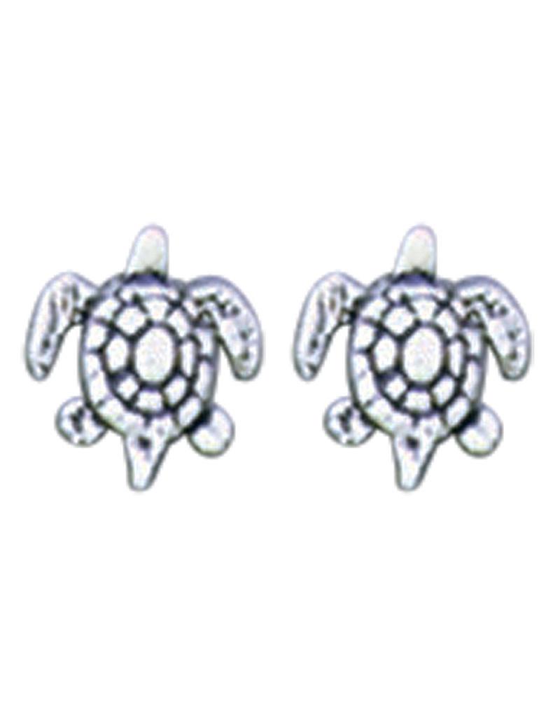 Sea Turtle Stud Earrings 8mm