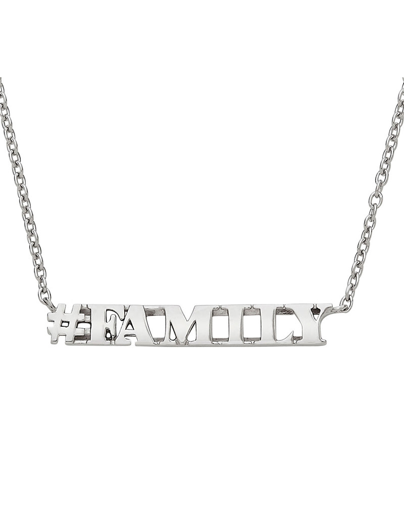 """Family Necklace 15""""+5"""""""