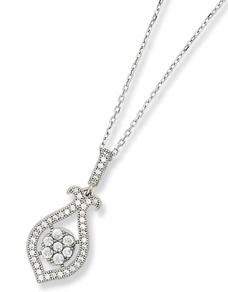 CZ Design Necklace