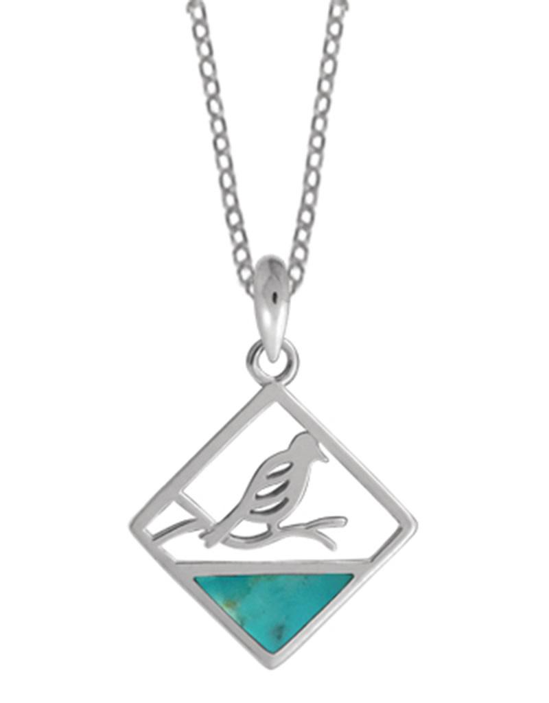 Bird Turquoise Necklace