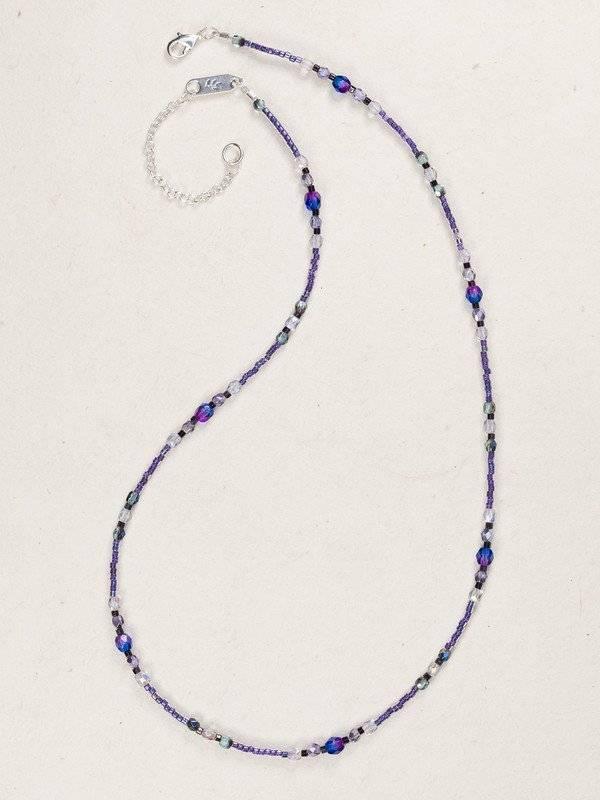 HOLLY YASHI Purple Sonoma Bead Necklace *18719