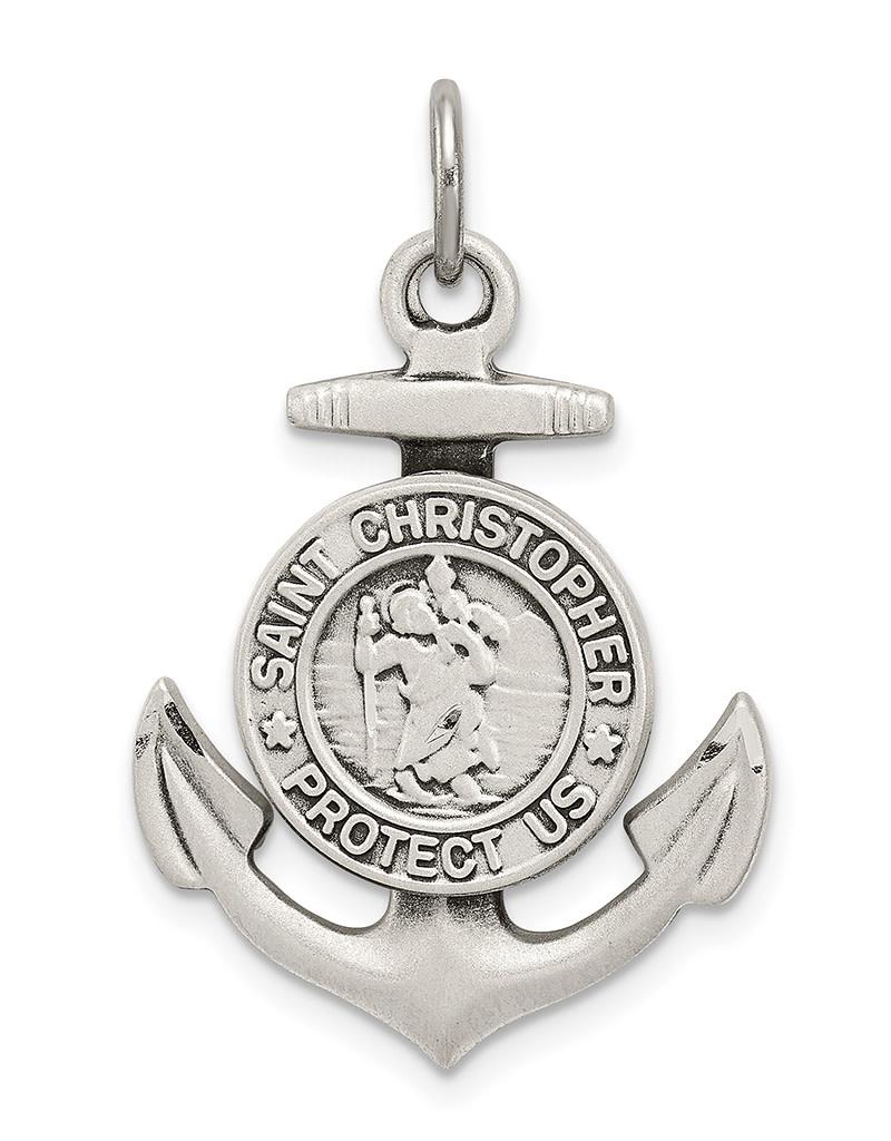 St. Christopher Anchor Pendant