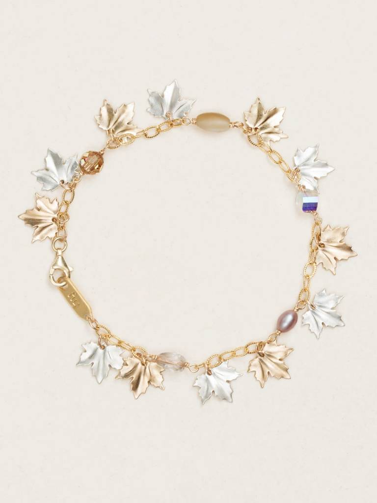 HOLLY YASHI Gold Maple Leaf Bracelet *17913