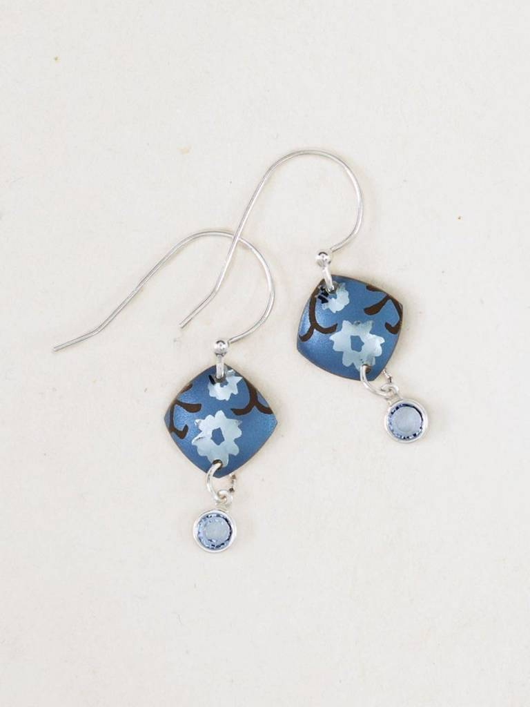 HOLLY YASHI Blue Aurora Earrings *10840