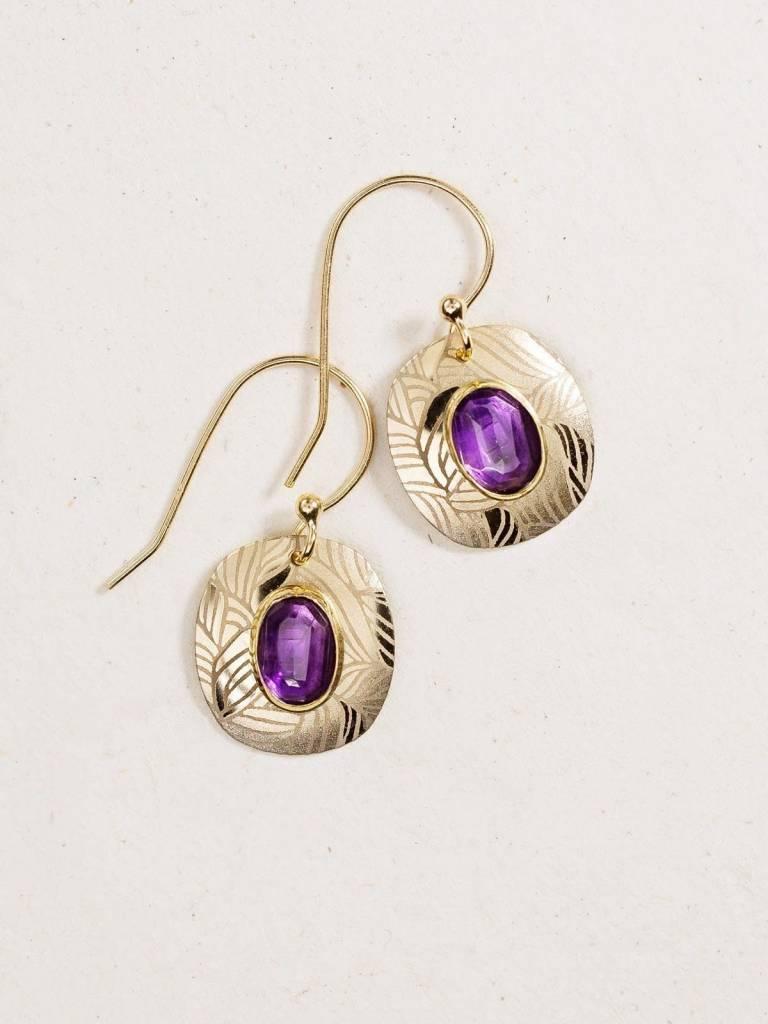 HOLLY YASHI Gold Synergy Earrings *90052