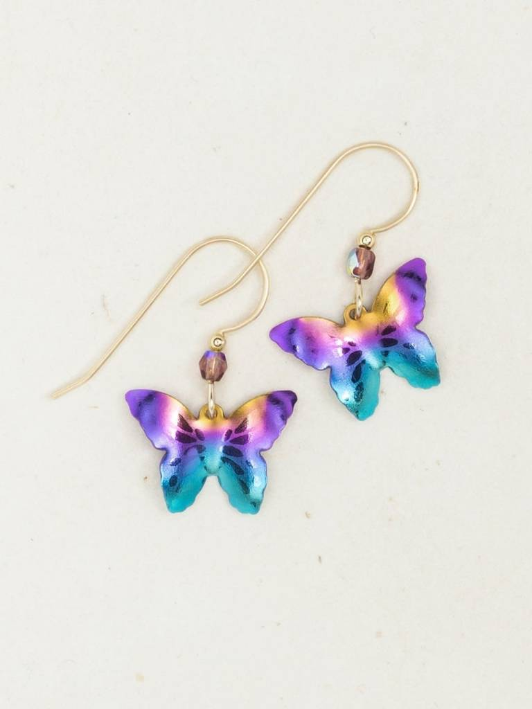 HOLLY YASHI Rainbow Butterfly Earrings *9162