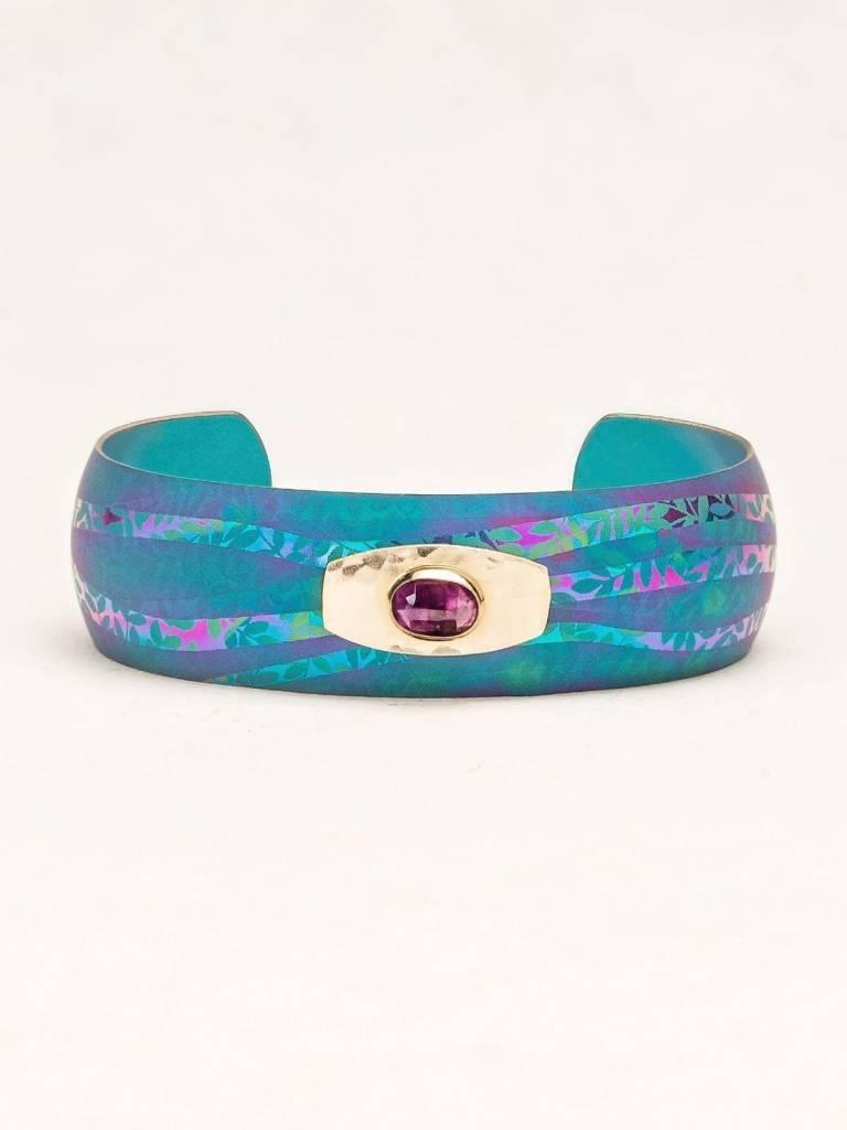 HOLLY YASHI Turquoise Horizons Cuff Bracelet *14191