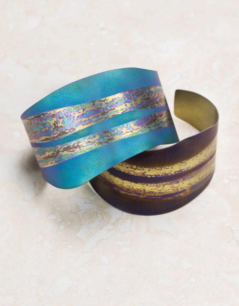HOLLY YASHI Holly Yashi Brown Electra Cuff Bracelet *7032