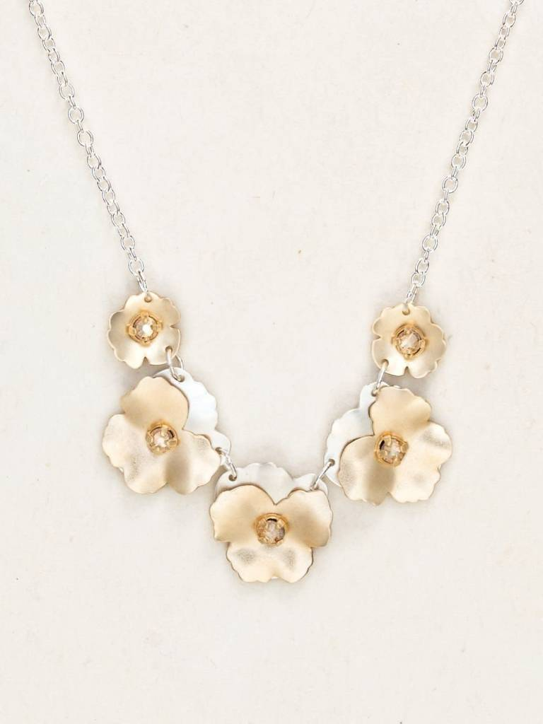 HOLLY YASHI Classic Pansy Necklace *178