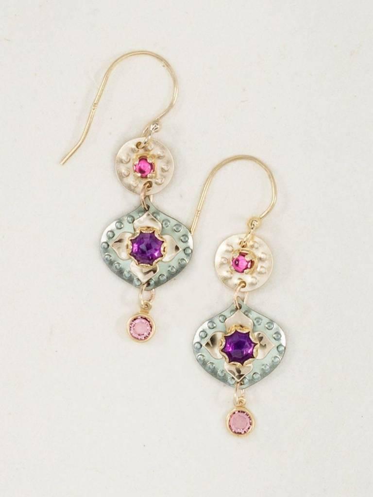 HOLLY YASHI Eternal Flowers Earrings *17014