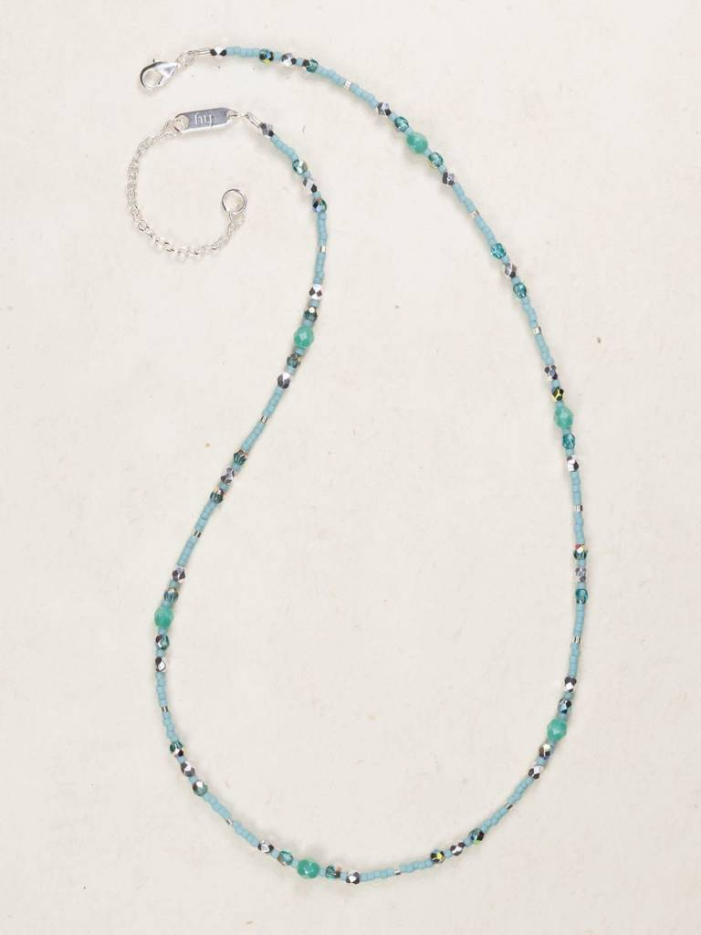 HOLLY YASHI Turquoise Sonoma Bead Necklace *18710
