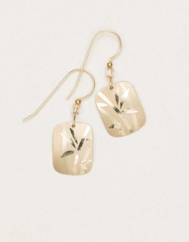 HOLLY YASHI Holly Yashi Gold Whisper Earrings *12431