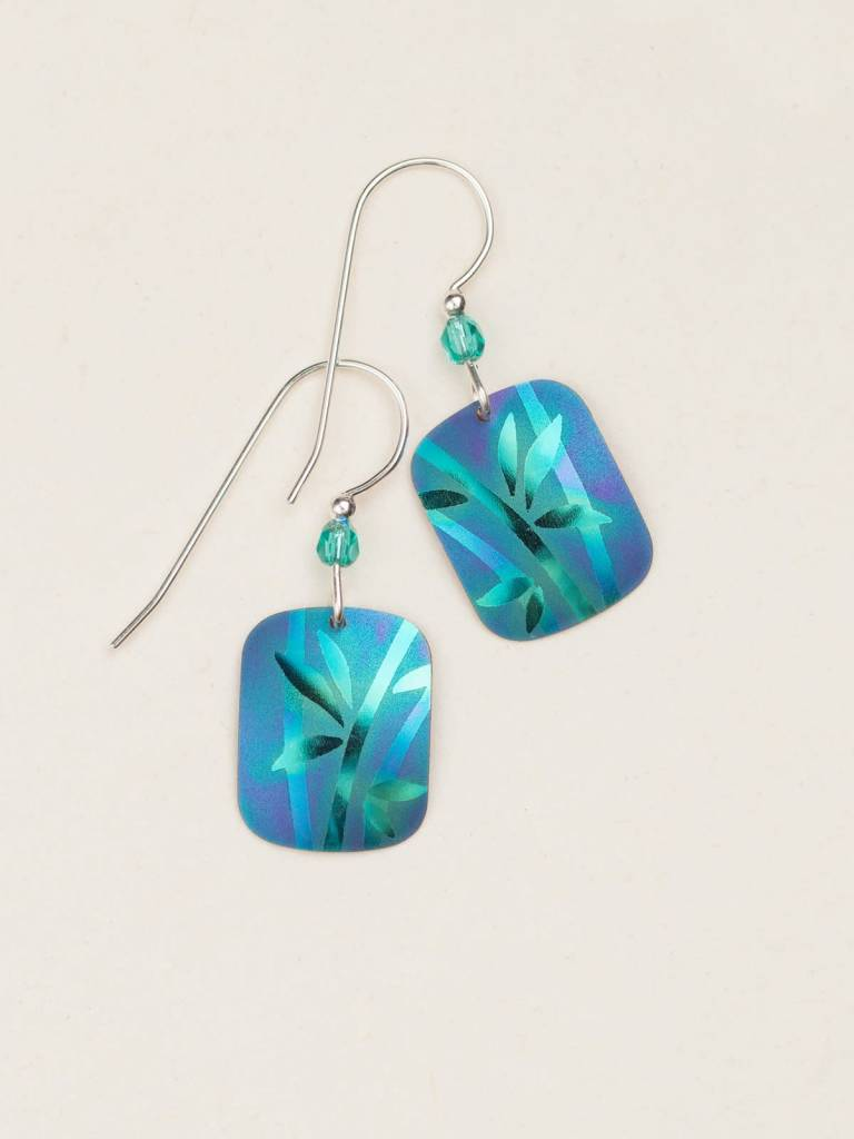 HOLLY YASHI Green Whisper Earrings *12434