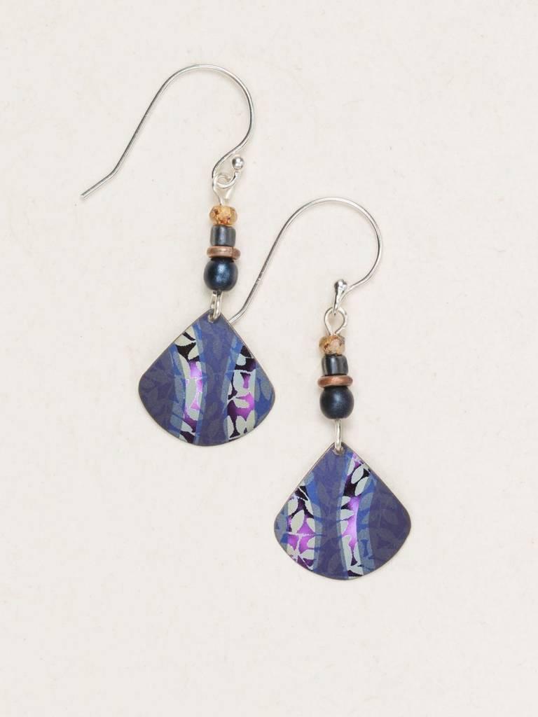 HOLLY YASHI Indigo Painterly Earrings *14954