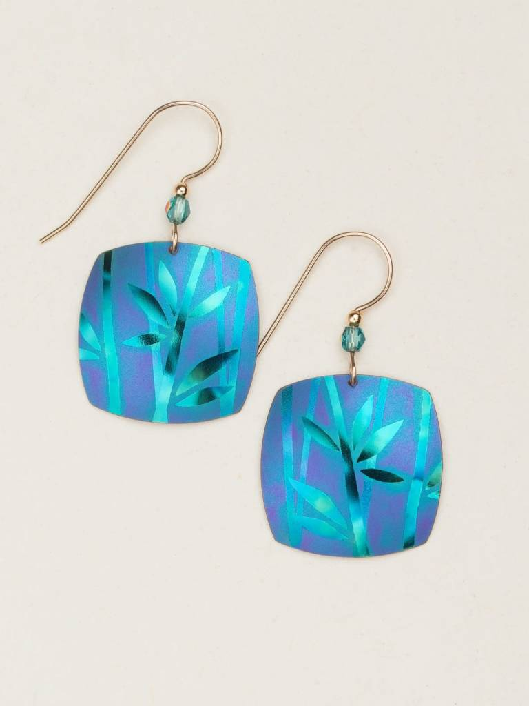 HOLLY YASHI Green Kestrel Earrings *12482