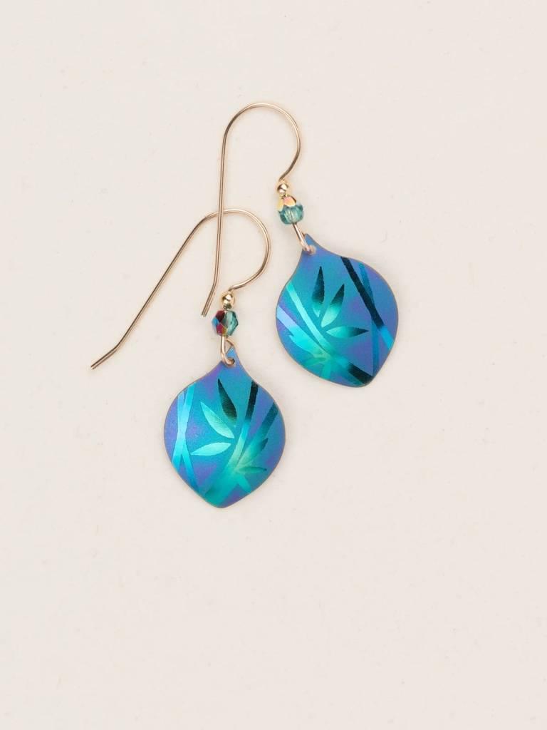 HOLLY YASHI Green Arietta Earrings *12444