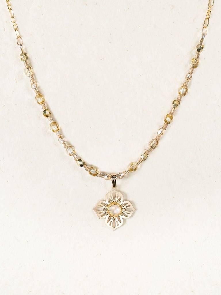 HOLLY YASHI Gold Bella Flora Necklace *11032