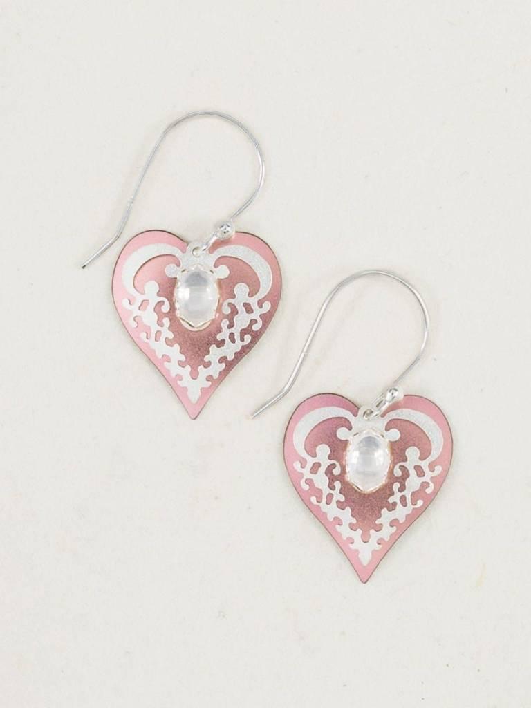 HOLLY YASHI Pink Penelope Earrings *10254