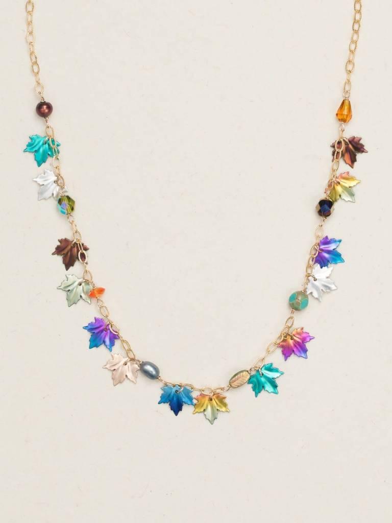 HOLLY YASHI Maple Leaf Classic Necklace *17900