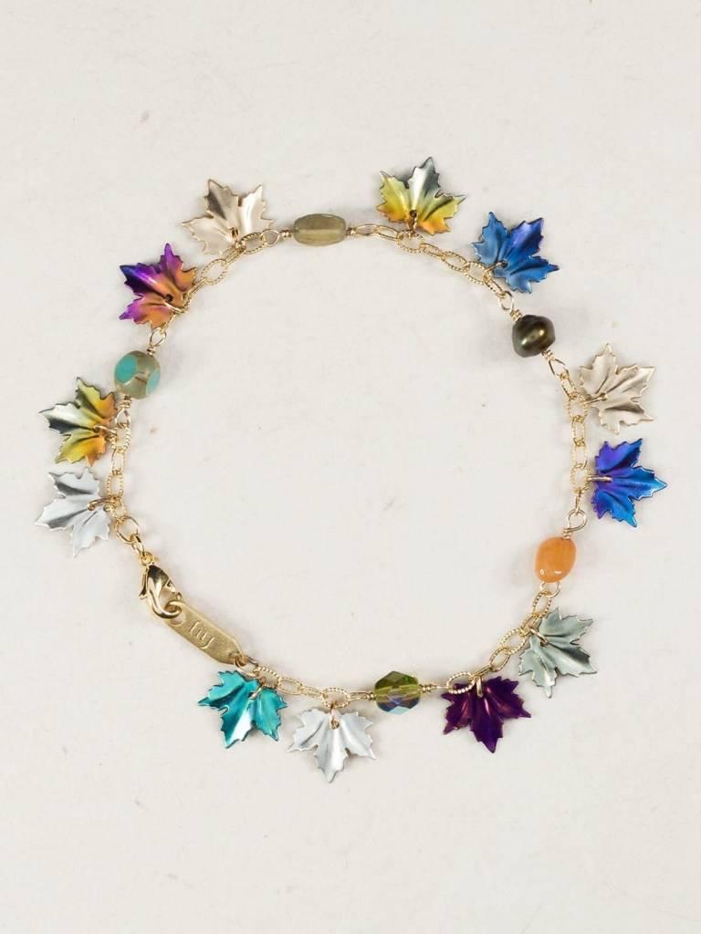 HOLLY YASHI Multi Maple Leaf Bracelet *179