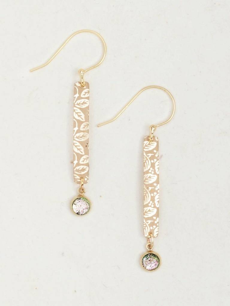 HOLLY YASHI Gold Weekender Earrings *9246
