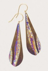 HOLLY YASHI Holly Yashi Brown North Shore Earrings *70231