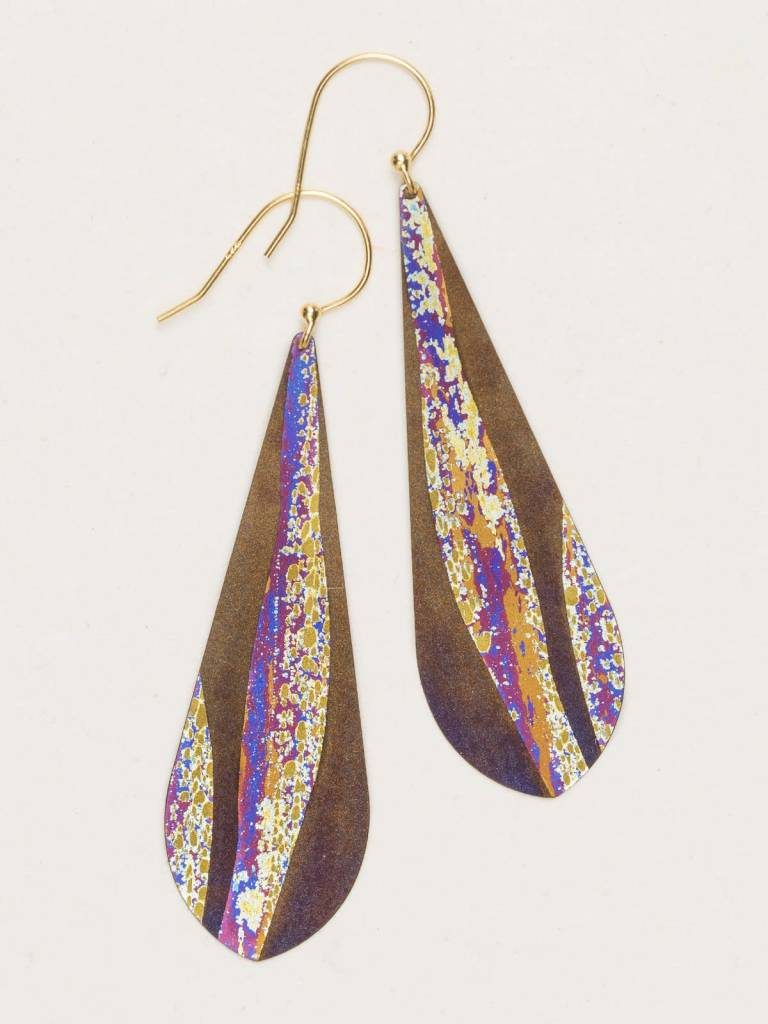 HOLLY YASHI Brown North Shore Earrings *70231