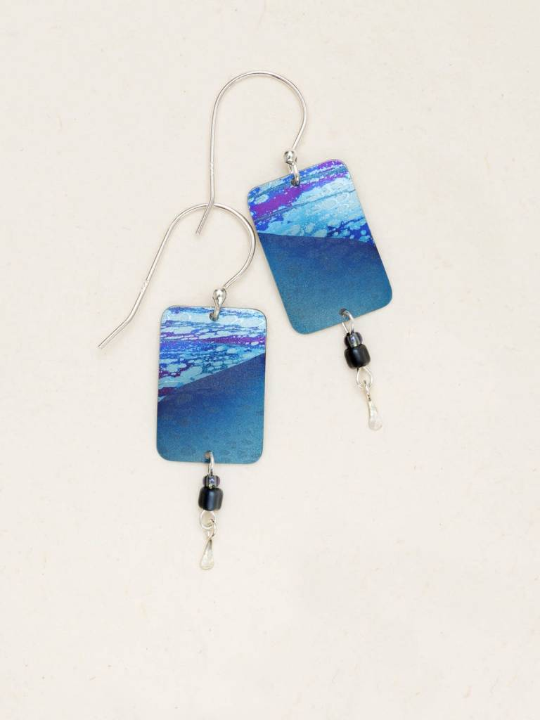 HOLLY YASHI Blue Tideline Earrings *70032