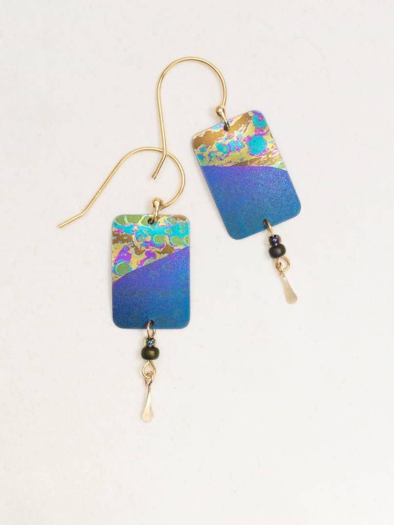 HOLLY YASHI Purple Tideline Earrings *70034