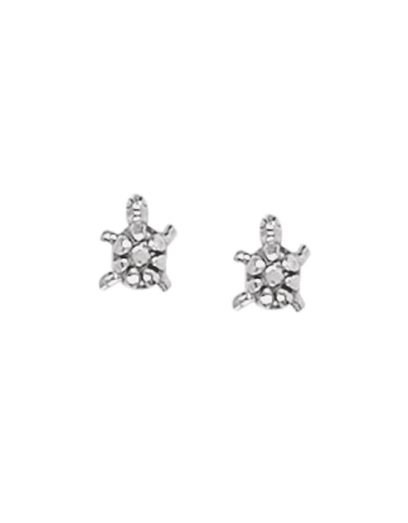 Turtle Stud Earrings 6mm