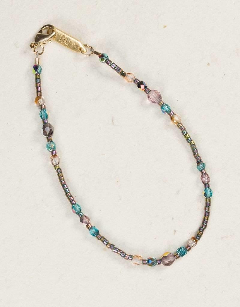 HOLLY YASHI Holly Yashi Rainbow Sonoma Glass Bead Bracelet *1883