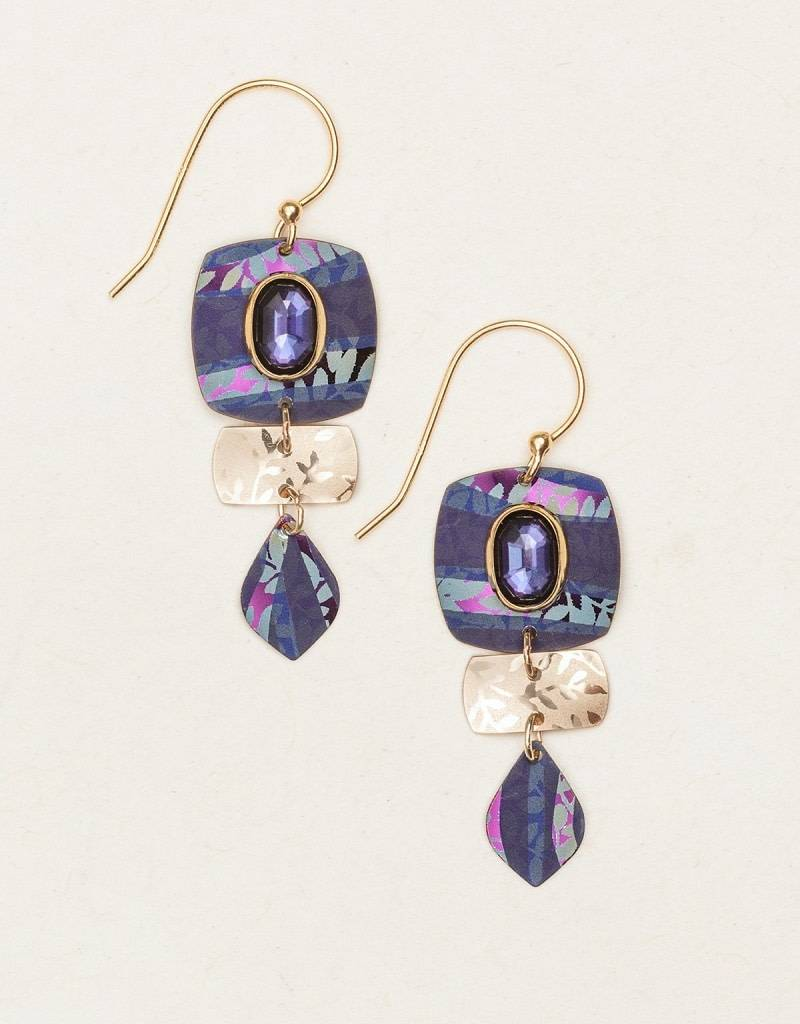 HOLLY YASHI Indigo Pure Harmony Earrings *14831