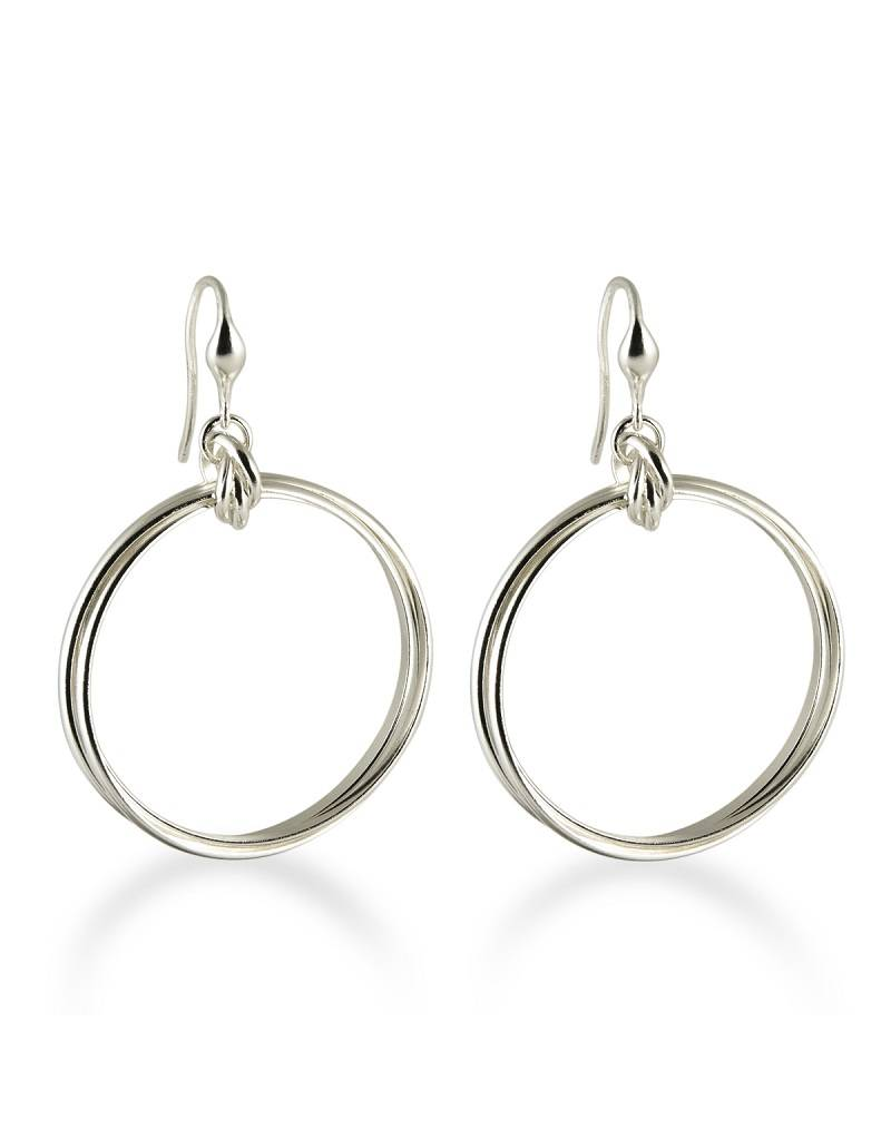 ZINA Rolling Rings Earrings 38mm