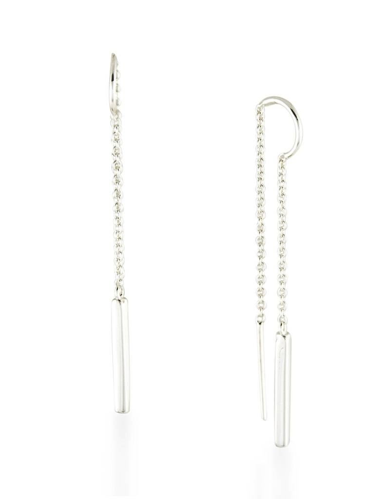 ZINA Bar Dangle Threader Earrings 53mm